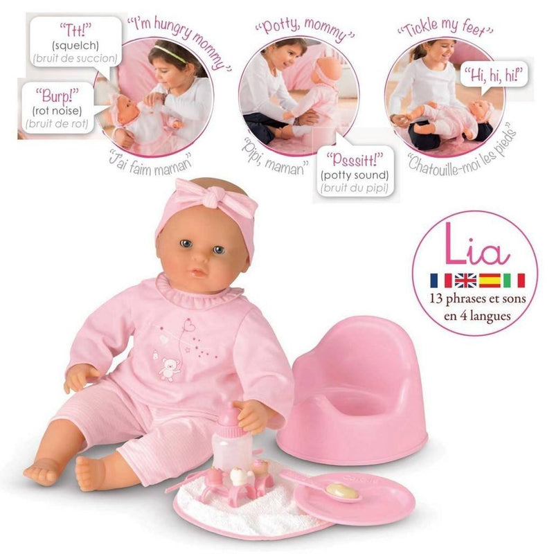 Corolle Lia Interactive Baby Play Doll