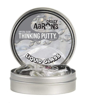 Crazy Aaron Toys Crazy Aaron Liquid Glass Crystal Clear Thinking Putty