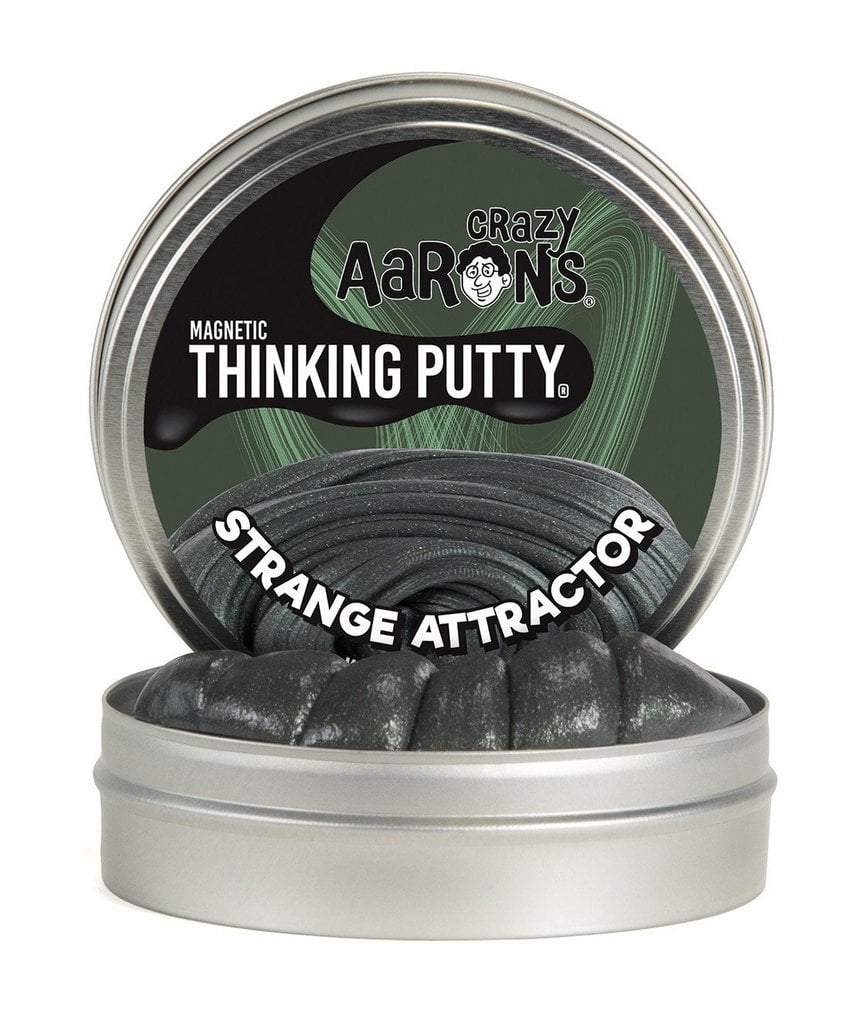Crazy Aaron Toys Crazy Aaron Strange Attractor Magnetic Thinking Putty