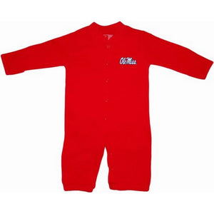 Creative Knitwear Gifts & Apparel Red / Newborn Creative Knitwear Infant Convertible Gown Ole Miss