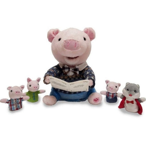 Cuddle Barn Gifts & Apparel Cuddle Barn Preston the Storytelling Pig
