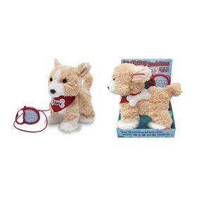 Cuddle Barn Gifts & Apparel Cuddle Barn Tobey the Walking Dog Animated Plush