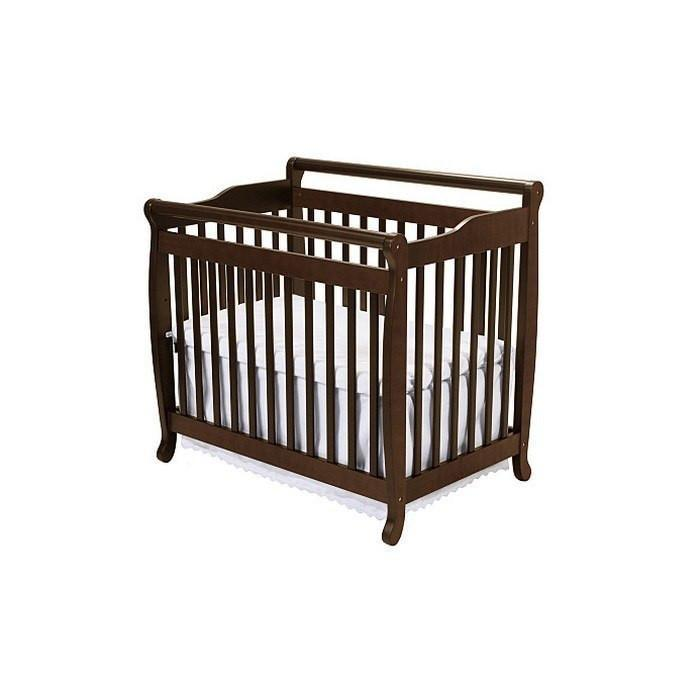DaVinci Emily Mini Crib Espresso-Furniture-Babysupermarket