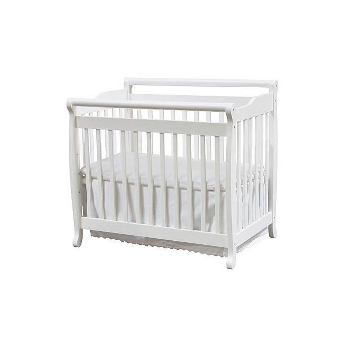 DaVinci Emily Mini Crib White-Furniture-Babysupermarket