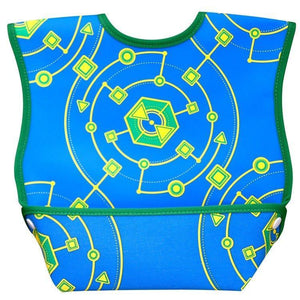 DexBaby Dura Bib Big Mouth Geo-Baby Care-Babysupermarket