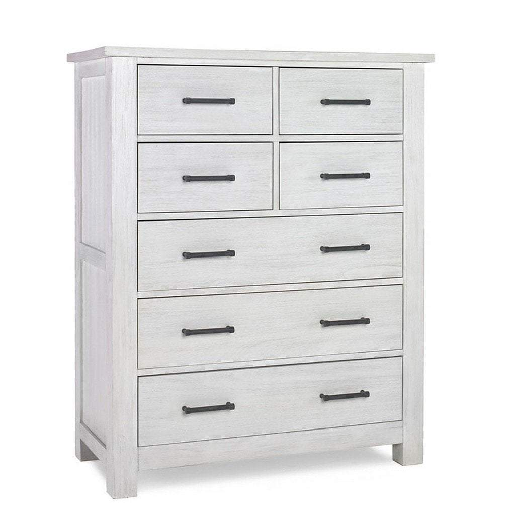 Bivona Furniture Dolce Babi Lucca 7 Drawer Chest Seashell White