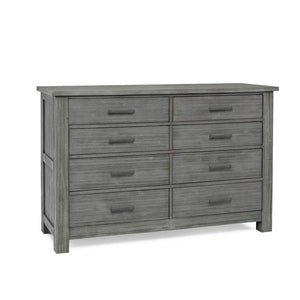 Bivona Furniture Dolce Babi Lucca 8 Drawer Double Dresser Weathered Grey