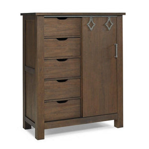 Bivona Furniture Dolce Babi Lucca Chifforobe Weathered Brown