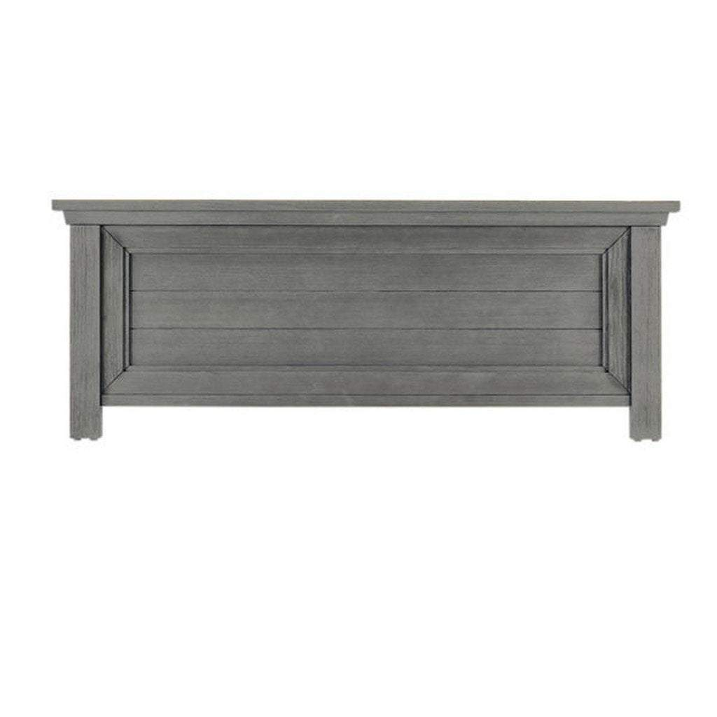 Bivona Furniture Dolce Babi Lucca Low Profile Footboard Weathered Grey