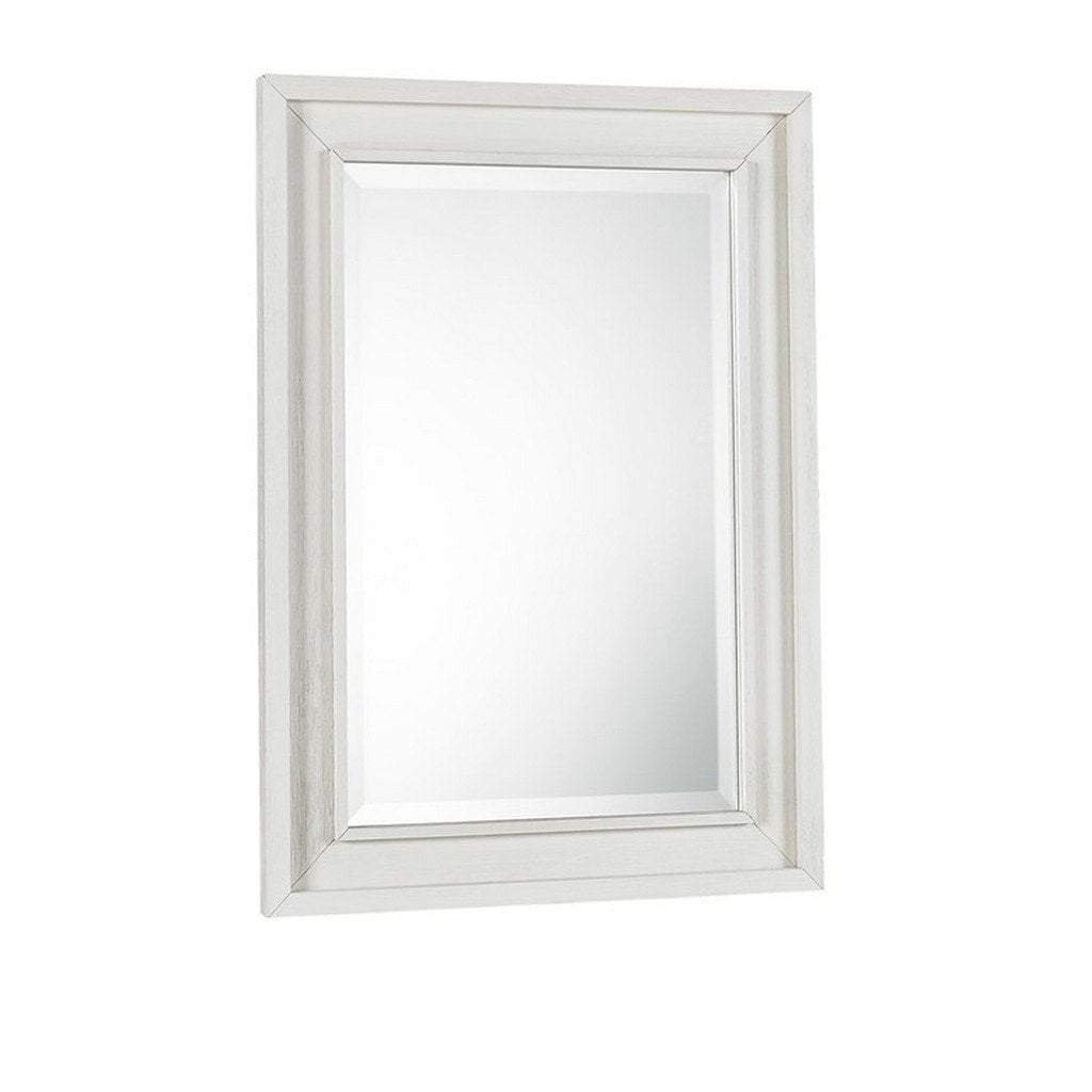 Bivona Furniture Dolce Babi Lucca Mirror Seashell White
