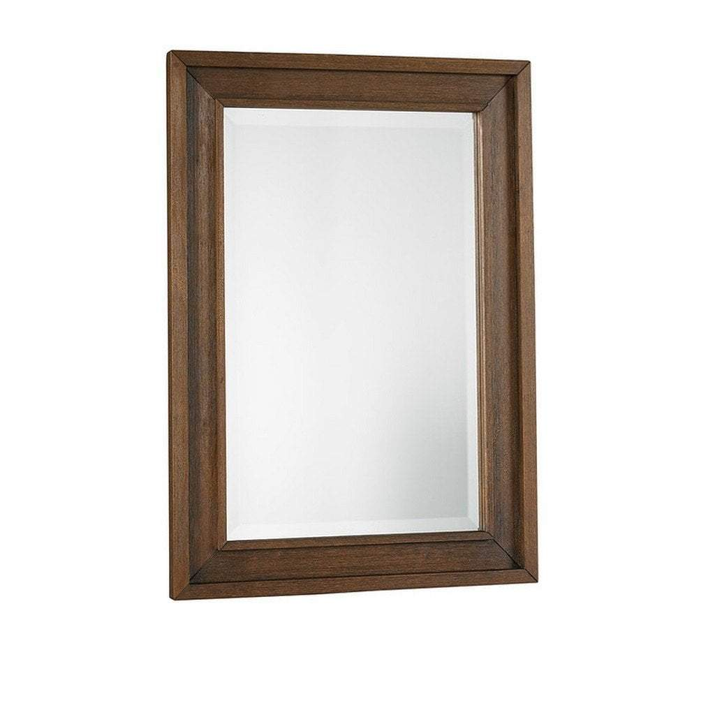 Bivona Furniture Dolce Babi Lucca Mirror Weathered Brown