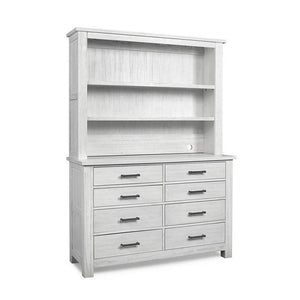 Bivona Furniture Dolce Babi Lucca RTA Hutch Seashell White