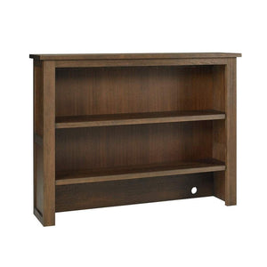 Bivona Furniture Dolce Babi Lucca RTA Hutch Weathered Brown