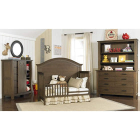 Bivona Furniture Dolce Babi Lucca Toddler Guard Rail Weathered Brown