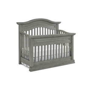 BIVONA Furniture Dolce Babi Marco Crib Double Dresser and Chifferobe Nantucket Grey