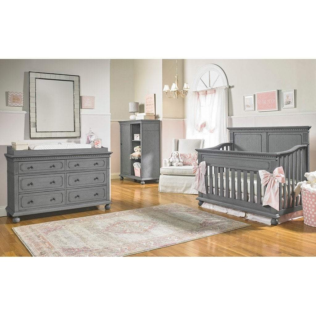 Bivona Furniture Dolce Babi Naples Dresser Kit Nantucket Grey