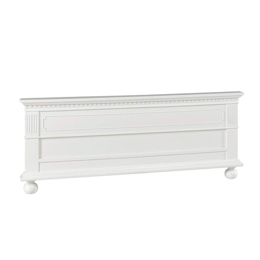 Bivona Furniture Dolce Babi Naples Low Profile Footboard Snow White