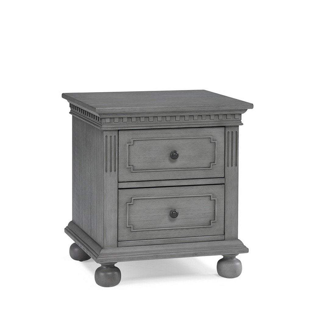 Bivona Furniture Dolce Babi Naples Nightstand Nantucket Grey