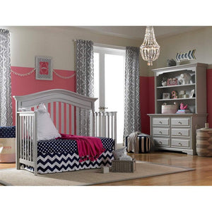 Bivona Furniture Dolce Babi Venezia 4 in 1 Convertible Crib Misty Grey