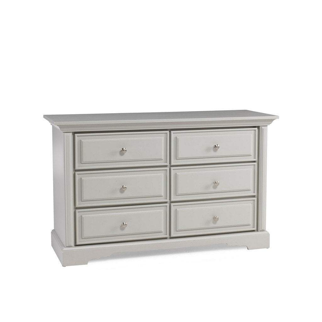Bivona Furniture Dolce Babi Venezia Double Dresser Misty Grey