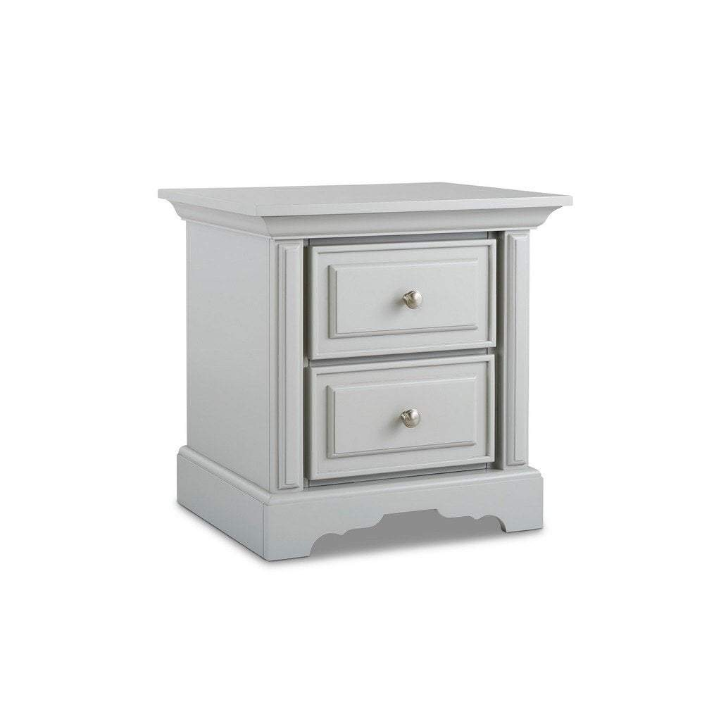 Bivona Furniture Dolce Babi Venezia Nightstand Misty Grey