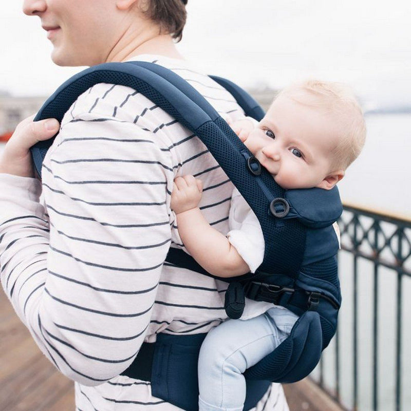 dc4c2918660 ... Ergo Baby Baby Gear Ergobaby 360 All Position Omni Baby Carrier Cool  Air Mesh Midnight Blue ...