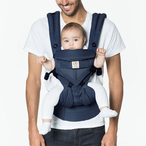 Ergo Baby Baby Gear Ergobaby 360 All Position Omni Baby Carrier Cool Air Mesh Midnight Blue