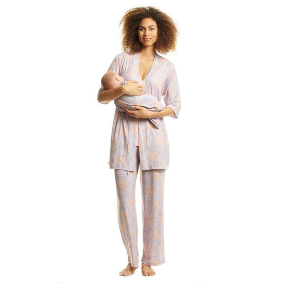 Baby Grey Gifts & Apparel Small / Boho Everly Grey Analise 5-Piece Maternity Loungewear Boho