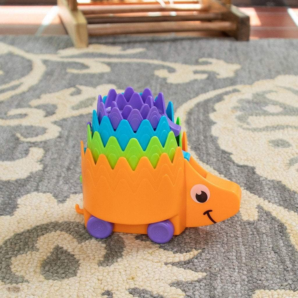 Fat Brain Toys Toys Fat Brain Toy Hiding Hedgehogs Stacking Game