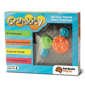 Fat Brain Toy Toys Fat Brain Toy Crankity Brainteaser Puzzle