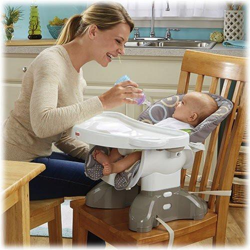 77d874407 Fisher Price SpaceSaver High Chair Luminosity Save at Baby Supermarket