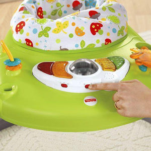 Fisher Price Woodland Friends SpaceSaver Jumperoo-Baby Gear-Babysupermarket