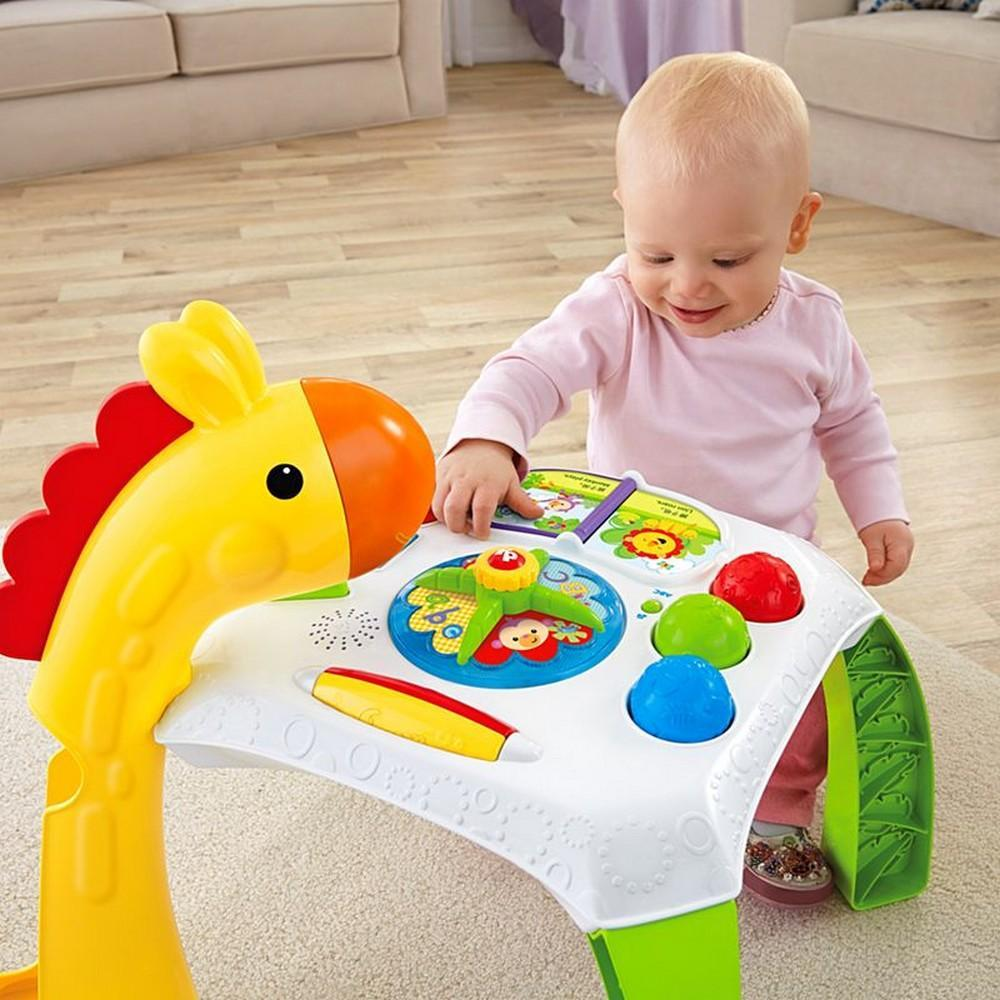 Fisher-Price Animal Friends Learning Table|Baby Supermarket