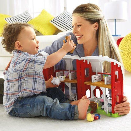 Fisher Price Little People Farm-Toys-Babysupermarket