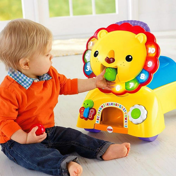 New Fashion Fisher Price Giraffe Sit Me Up Floor Seat Baby Chair Removable Tray Stable Base Fancy Colours Other