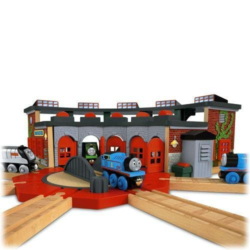 Thomas And Friends Railway Deluxe Roundhouse