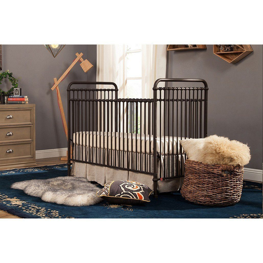 Franklin & Ben Abigail 3 in 1 Convertible Bed Vintage Iron-Furniture-Babysupermarket