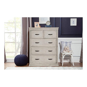 Franklin & Ben Furniture Franklin & Ben Langford 5 Drawer Chest London Fog