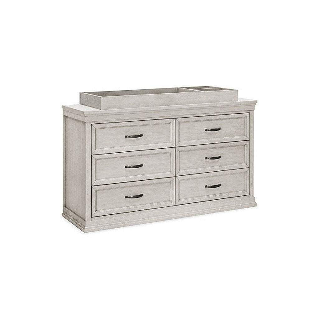 Franklin & Ben Furniture Franklin & Ben Langford 6 Drawer Double Dresser London Fog