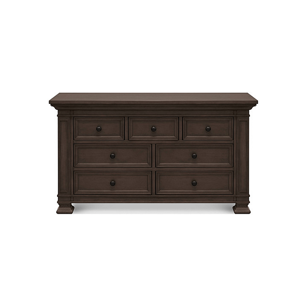 Franklin & Ben Furniture Franklin & Ben Tillen 7 Drawer Double Dresser