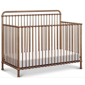 Franklin & Ben Furniture Franklin & Ben Winston 4 in 1 Iron Convertible Crib Vintage Gold