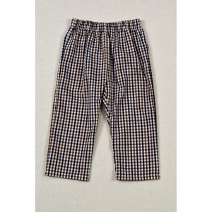 Funtasia Boys Apparel 2T / Navy Funtasia Too Hold Your Horses Boy's Navy/Brown Plaid Pants