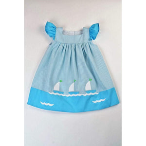 Funtasia Girls Apparel Funtasia Your Ship Has Come In Girls Sailboats Dress