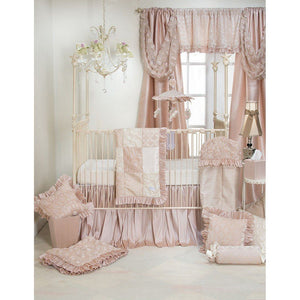 Glenna Jean Paris 2 Piece Baby Crib Bedding Starter Set-Nursery Décor-Babysupermarket