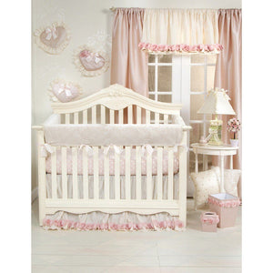 Glenna Jean Victoria 4 in1 Convertible Baby Crib Rail Protector-Nursery Décor-Babysupermarket