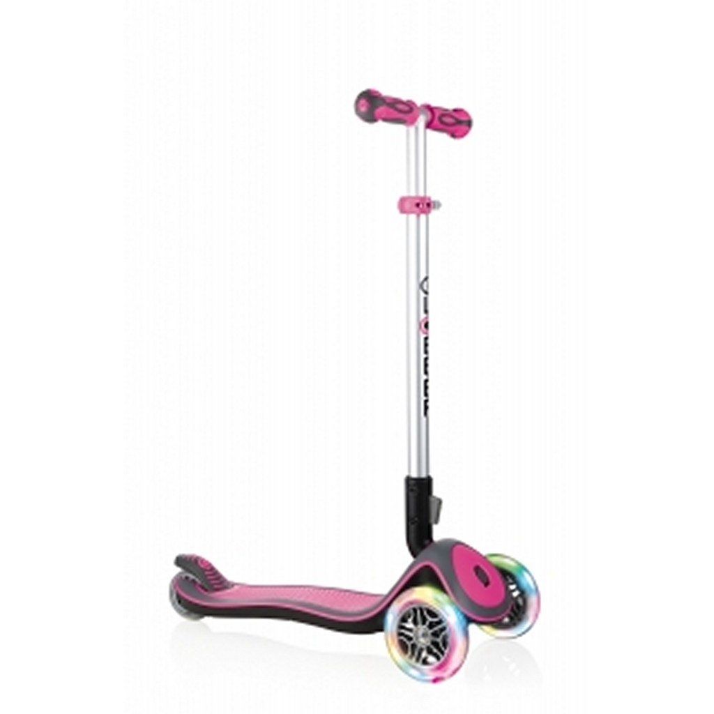 Globber Toys Globber Elite Deluxe Lights Scooter Pink