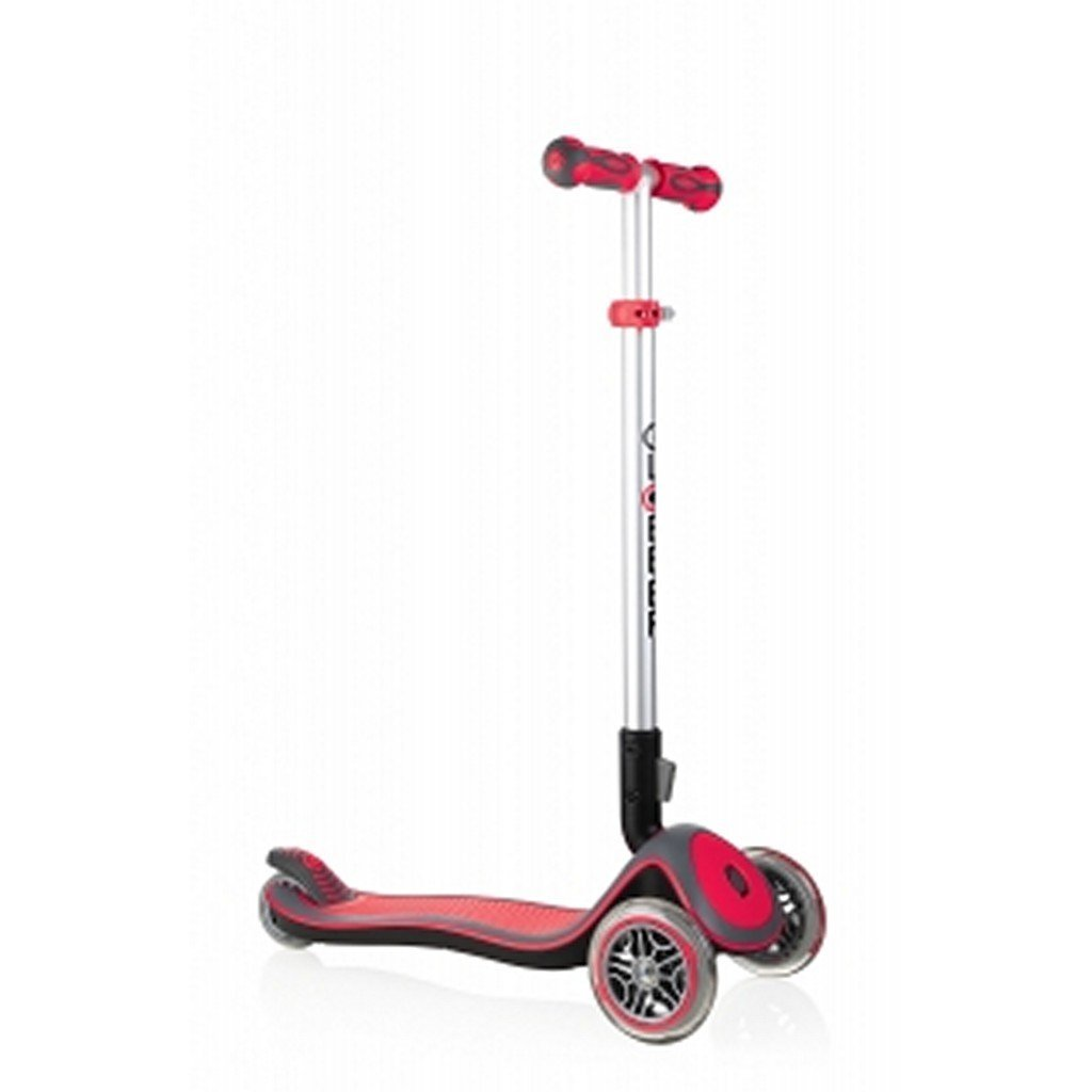 Globber Toys Globber Elite Deluxe Lights Scooter Red