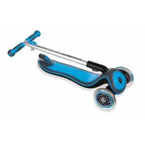 Globber Toys Globber Elite Deluxe Lights Scooter Sky Blue