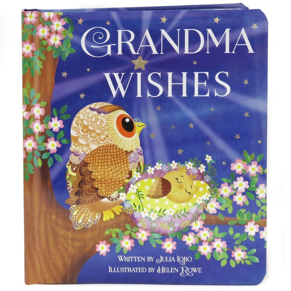Cottage Door Press Gifts & Apparel Grandma Wishes Children's Classic Board Book