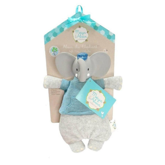 Alvin the Elephant Soft Toy-Toys-Babysupermarket